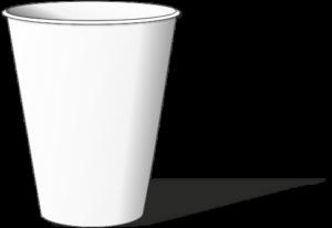 однослойный стакан
