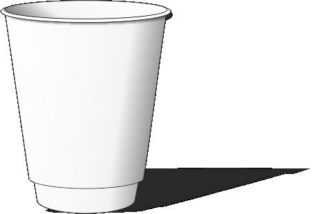 Купить одноразовые PET стаканы с купольной крышкой в
